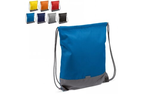 Practical drawstring backpack for everyday use. The small reflective patch gives additional visbility in the dark.