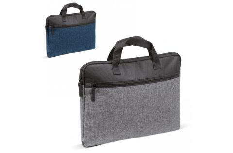 """Laptop bag in a stylish and formal design. The bag is completely padded to protect a laptop up to 14""""."""