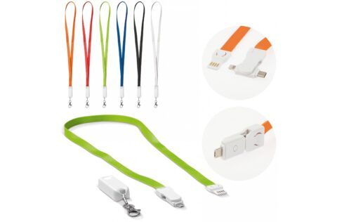 Fancy 3-in-1 charging cable and keycord. This keycord comes with USB to Type-C, Micro-USB and lightning jacks making it suitable for practically every smartphone that is currently in the market.