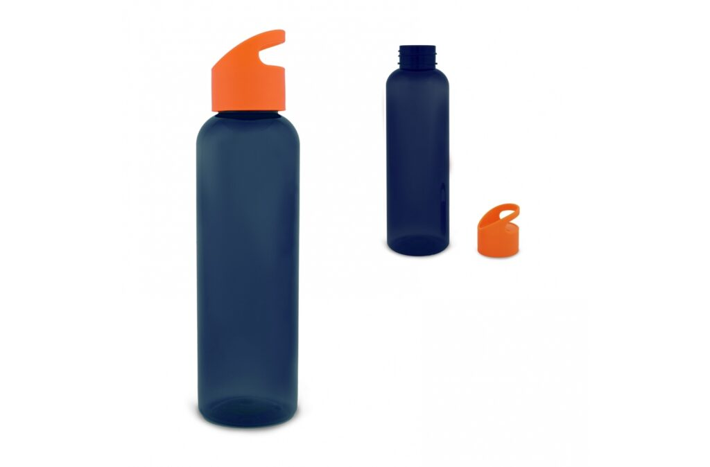 Single wall drinking bottle with the capacity of 600ml. Mix and match the colours of the lid and body to create your own colour combination. Made of Tritan material. Suitable for cold non-carbonated drinks.