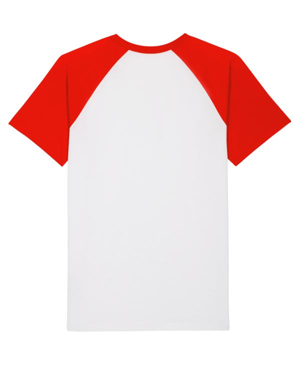 Tees Unisex White/Bright Red