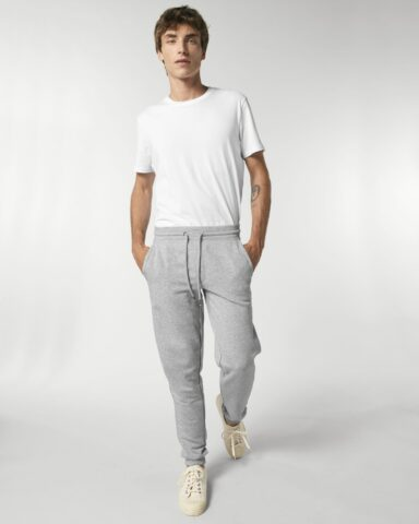Pants Men Heather Grey
